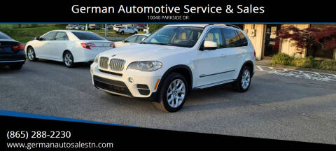 2013 BMW X5 for sale at German Automotive Service & Sales in Knoxville TN