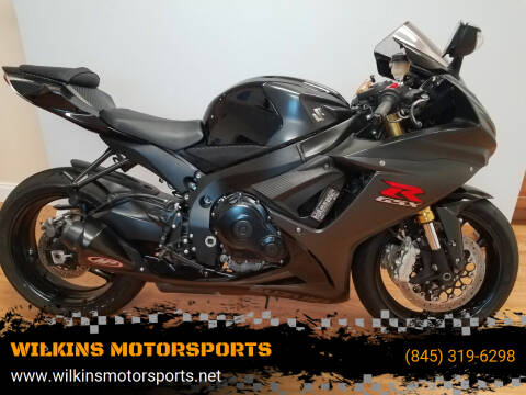 2016 Suzuki GSX-R750 for sale at WILKINS MOTORSPORTS in Brewster NY