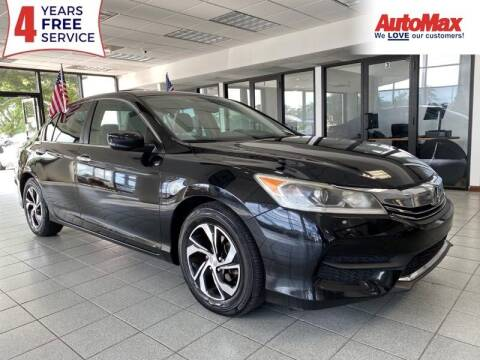 2016 Honda Accord for sale at Auto Max - Rentals in Hollywood FL