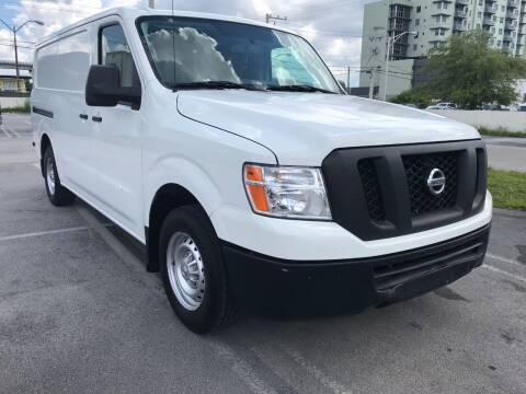 2016 Nissan NV Cargo for sale at MIAMI AUTO LIQUIDATORS in Miami FL