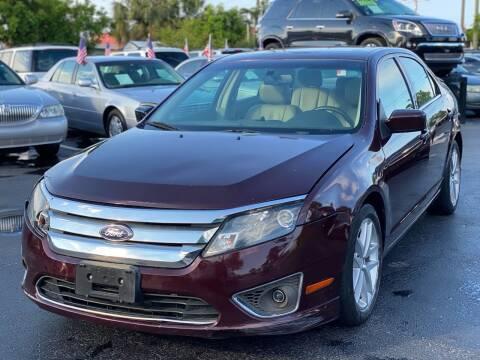 2011 Ford Fusion for sale at KD's Auto Sales in Pompano Beach FL