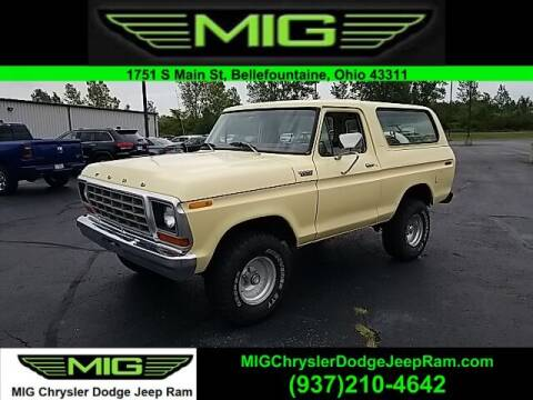 1978 Ford Bronco for sale at MIG Chrysler Dodge Jeep Ram in Bellefontaine OH