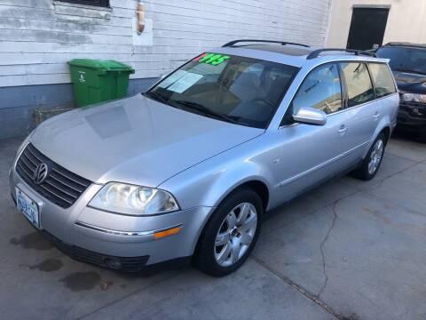 2001 Volkswagen Passat for sale at Excelsior Motors , Inc in San Francisco CA