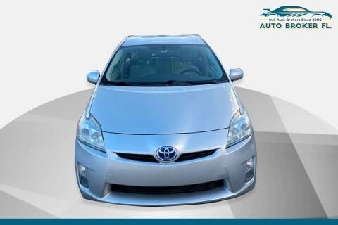 2010 Toyota Prius for sale at INTERNATIONAL AUTO BROKERS INC in Hollywood FL