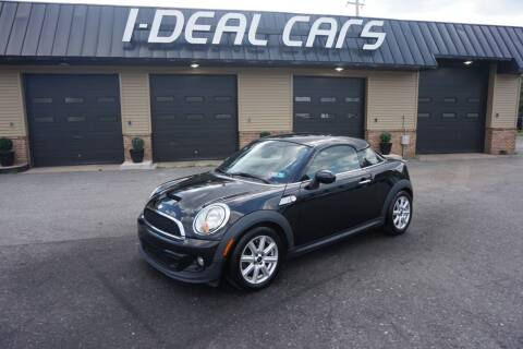 2012 MINI Cooper Coupe for sale at I-Deal Cars in Harrisburg PA
