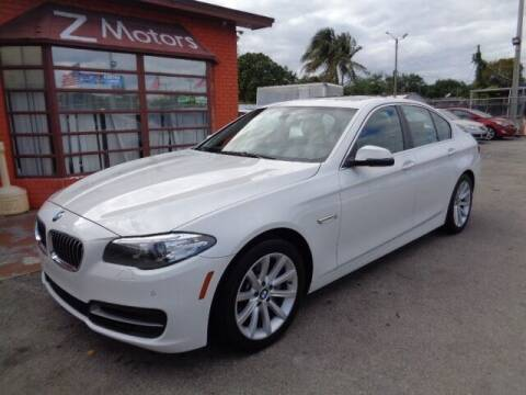 2014 BMW 5 Series for sale at Z MOTORS INC in Hollywood FL
