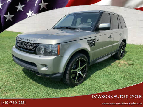 2013 Land Rover Range Rover Sport for sale at Dawsons Auto & Cycle in Glen Burnie MD