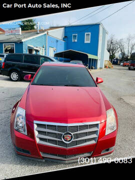 2009 Cadillac CTS for sale at Car Port Auto Sales, INC in Laurel MD