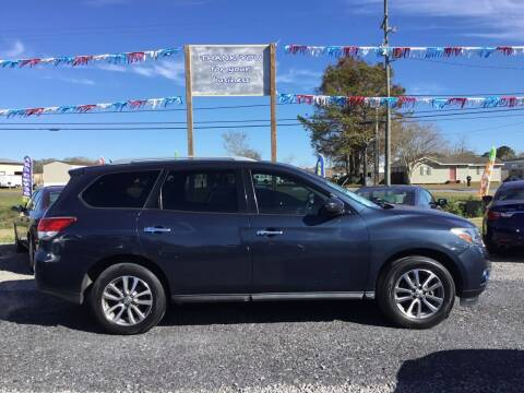 2013 Nissan Pathfinder for sale at Affordable Autos II in Houma LA