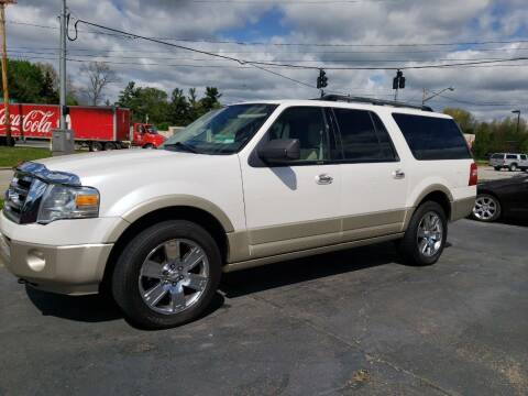 2010 Ford Expedition EL for sale at COLONIAL AUTO SALES in North Lima OH