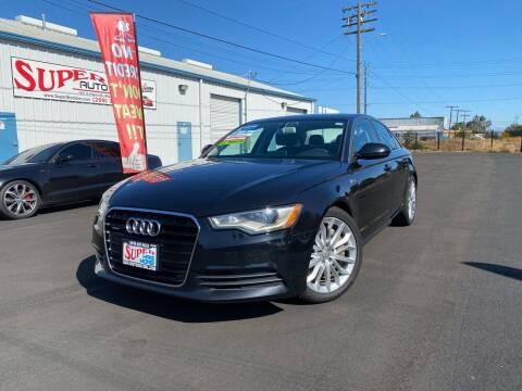 2013 Audi A6 for sale at SUPER AUTO SALES STOCKTON in Stockton CA