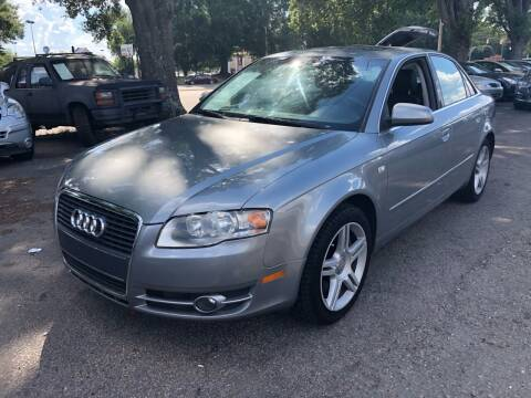 2007 Audi A4 for sale at Atlantic Auto Sales in Garner NC