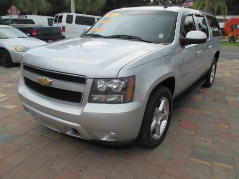 2012 Chevrolet Suburban for sale at Affordable Auto Motors in Jacksonville FL