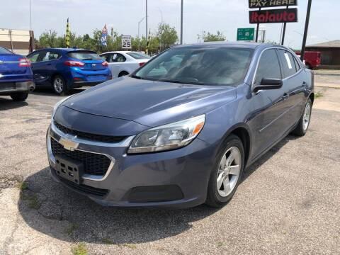 2015 Chevrolet Malibu for sale at Ital Auto in Oklahoma City OK