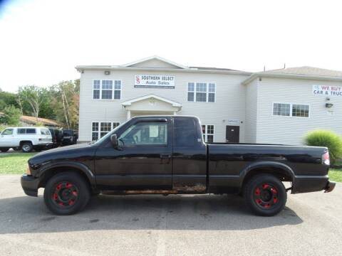 2000 GMC Sonoma for sale at SOUTHERN SELECT AUTO SALES in Medina OH