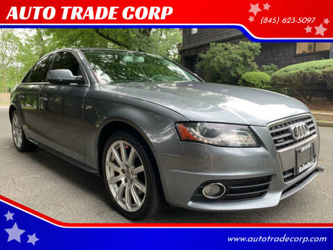 2012 Audi A4 for sale at AUTO TRADE CORP in Nanuet NY