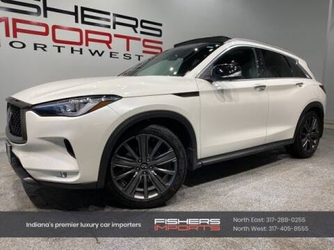 2020 Infiniti QX50 for sale at Fishers Imports in Fishers IN