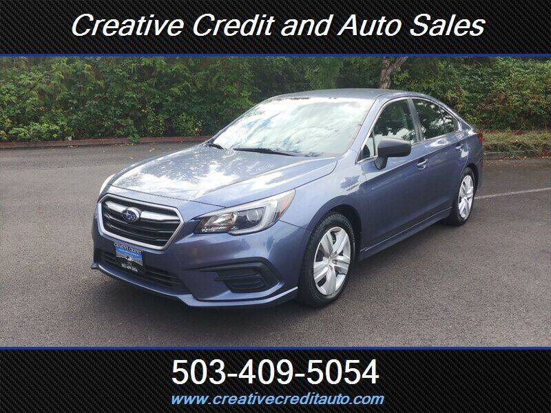 2018 Subaru Legacy for sale at Creative Credit & Auto Sales in Salem OR