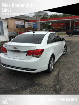 2014 Chevrolet Cruze for sale at Mike Hunter Auto Sales in Terre Haute IN