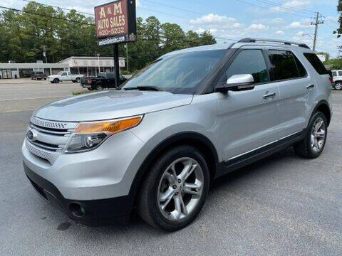 2013 Ford Explorer for sale at A & M Auto Sales, Inc in Alabaster AL