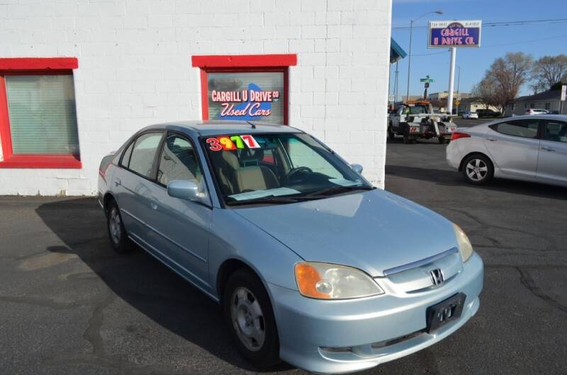 2003 Honda Civic for sale at CARGILL U DRIVE USED CARS in Twin Falls ID