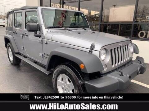 2018 Jeep Wrangler JK Unlimited for sale at BuyFromAndy.com at Hi Lo Auto Sales in Frederick MD