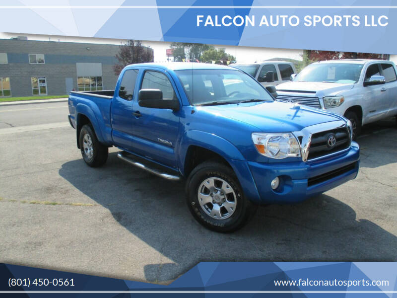 2005 Toyota Tacoma for sale at Falcon Auto Sports LLC in Murray UT