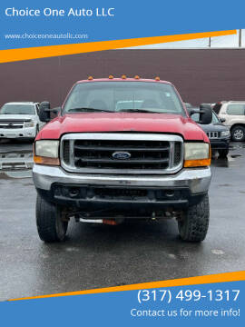 1999 Ford F-350 Super Duty for sale at Choice One Auto LLC in Beech Grove IN