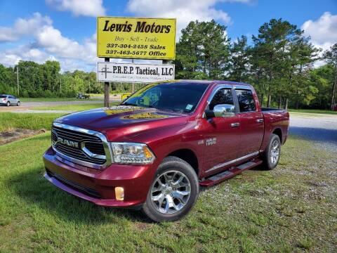 2017 RAM Ram Pickup 1500 for sale at Lewis Motors LLC in Deridder LA