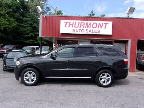 2011 Dodge Durango for sale at THURMONT AUTO SALES in Thurmont MD