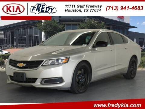 2015 Chevrolet Impala for sale at FREDYS CARS FOR LESS in Houston TX
