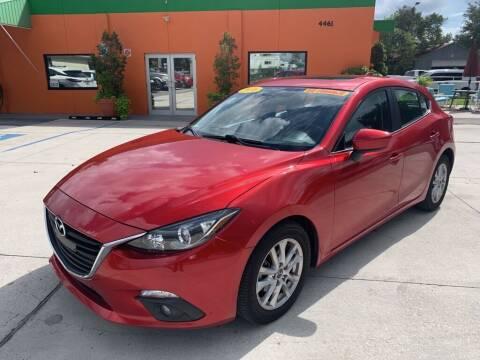 2016 Mazda MAZDA3 for sale at Galaxy Auto Service, Inc. in Orlando FL