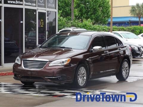 2013 Chrysler 200 for sale at DriveTown in Houston TX
