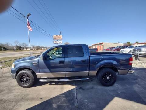 2005 Ford F-150 for sale at BIG 7 USED CARS INC in League City TX