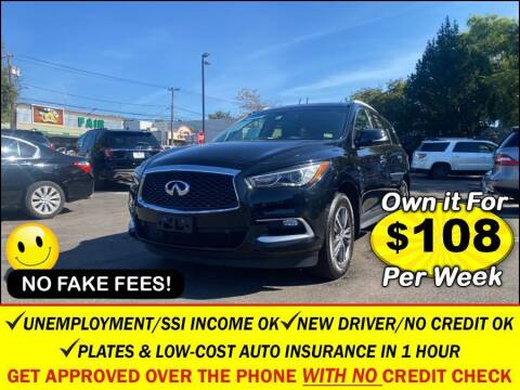 2016 Infiniti QX60 for sale at AUTOFYND in Elmont NY