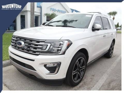2019 Ford Expedition for sale at BARTOW FORD CO. in Bartow FL