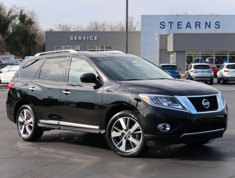 2013 Nissan Pathfinder for sale at Stearns Ford in Burlington NC