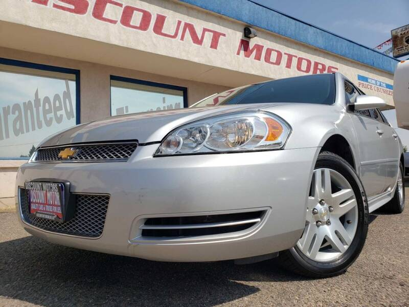 2016 Chevrolet Impala Limited for sale at Discount Motors in Pueblo CO