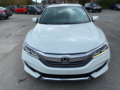 2017 Honda Accord for sale at J Franklin Auto Sales in Macon GA