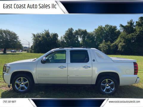 2013 Chevrolet Avalanche for sale at East Coast Auto Sales llc in Virginia Beach VA