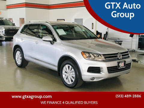 2014 Volkswagen Touareg for sale at GTX Auto Group in West Chester OH