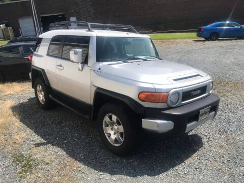 2007 Toyota FJ Cruiser for sale at Clayton Auto Sales in Winston-Salem NC