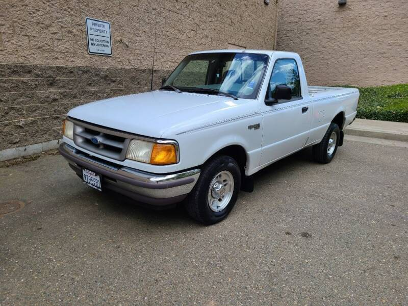 1996 Ford Ranger for sale at SafeMaxx Auto Sales in Placerville CA