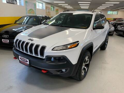 2015 Jeep Cherokee for sale at Newton Automotive and Sales in Newton MA