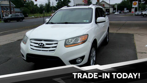 2011 Hyundai Santa Fe for sale at FERINO BROS AUTO SALES in Wrightstown PA