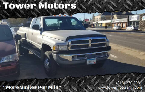 2001 Dodge Ram Pickup 3500 for sale at Tower Motors in Brainerd MN