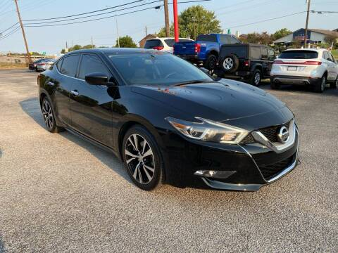 2018 Nissan Maxima for sale at LLANOS AUTO SALES LLC - LEDBETTER in Dallas TX