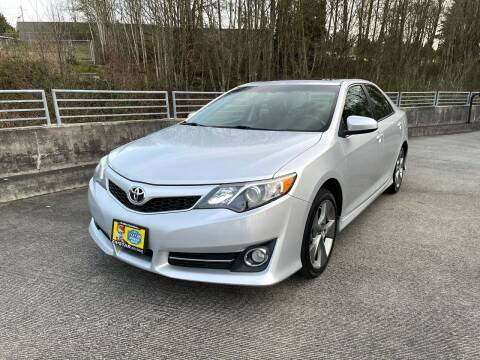 2014 Toyota Camry for sale at Zipstar Auto Sales in Lynnwood WA