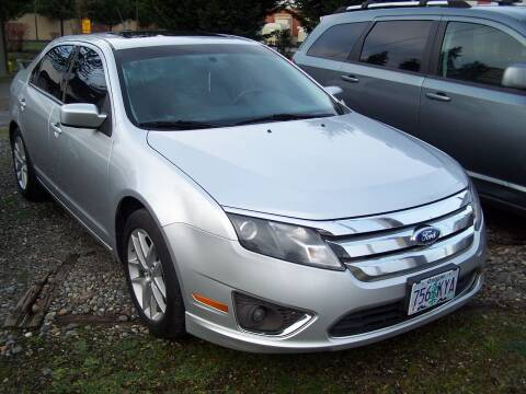2011 Ford Fusion for sale at M & M Auto Sales LLc in Olympia WA