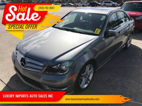 2013 Mercedes-Benz C-Class for sale at LUXURY IMPORTS AUTO SALES INC in North Branch MN